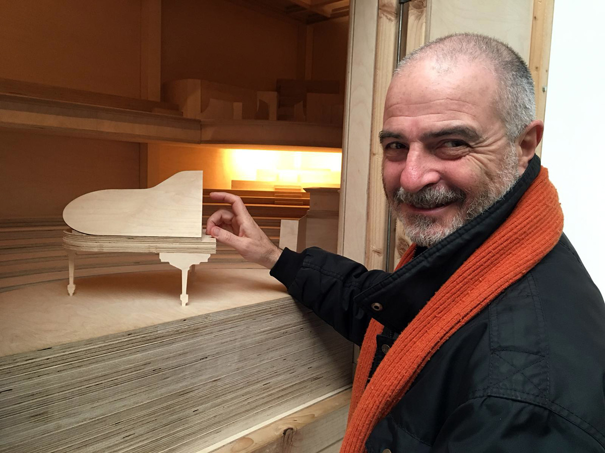 Direttore di opera lirica alla Biennale di Venezia